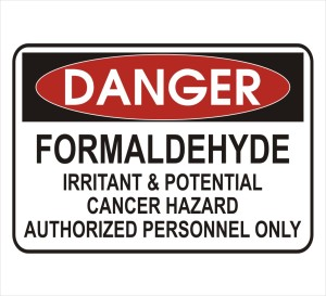danger-formaldehyde-cancer-risk-sign
